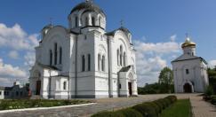 Новые фрески при реставрации Спасского храма в Полоцке