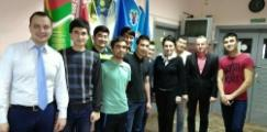 Состоялся круглый стол с иностранными студентами